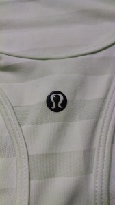 lululemon lab tank top logo
