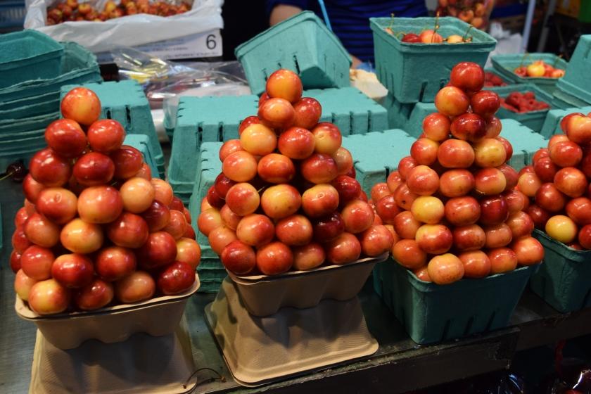 granville market rainier cherries
