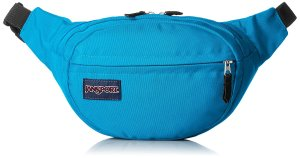 jansport-teal-fanny-pack