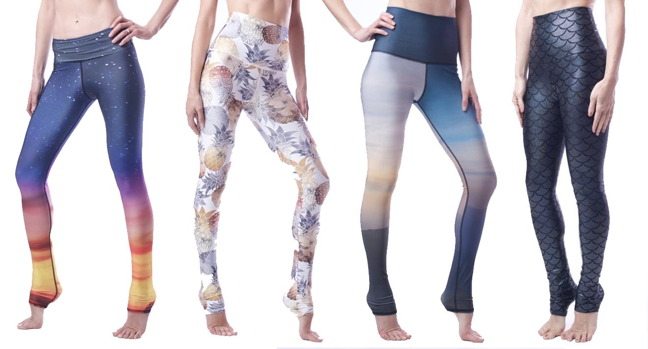 emily-hsu-designs-leggings-sunset-pineapple-mountain-onyx-shimmer-mermaid